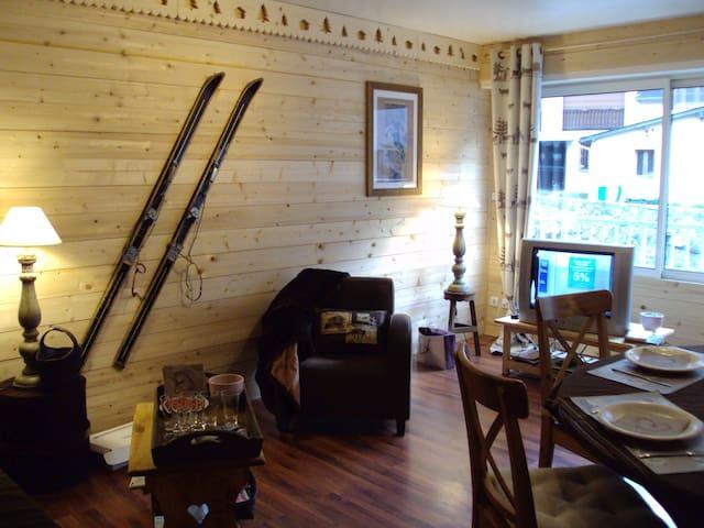F2 Cosy charme de la montagne - Cauterets - Appartement en résidence
