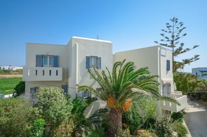 Semi-Basement Two-Room Apartment, Agia Anna Naxos