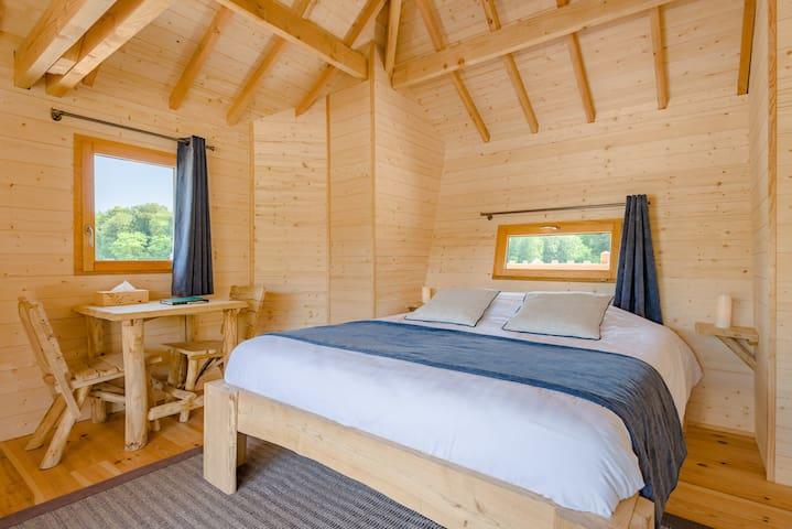 Cabane SPA Miroir pour 2 personnes - Joncherey - Stuga