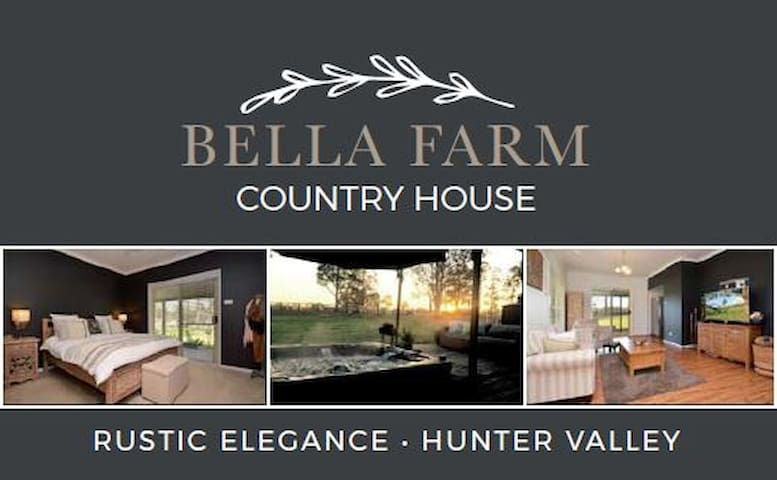 BELLA FARM Country House with Outdoor Jacuzzi