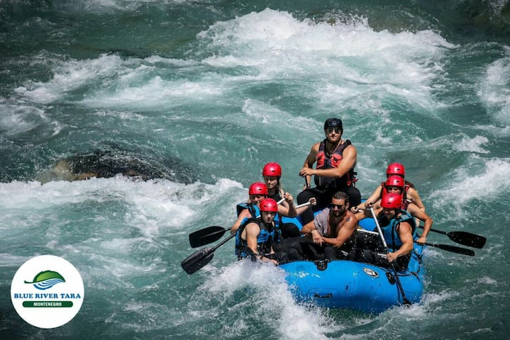 Rafting Blue River Tara