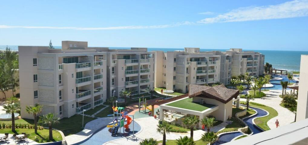 Apartamento vista mar no Riviera Beach Place - Aquiraz - Apartment