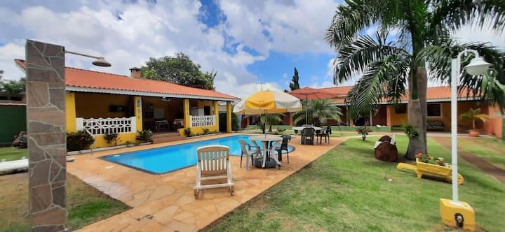 Casa de campo Artur Nogueira/holambra condomínio.