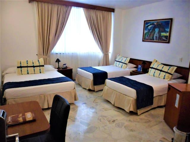 Habitación Triple Hotel Dulima Ibagué