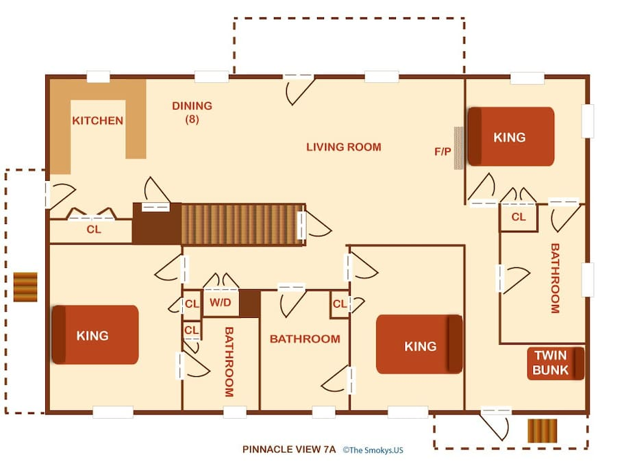 Pinnacle View 7A-Floor Plan