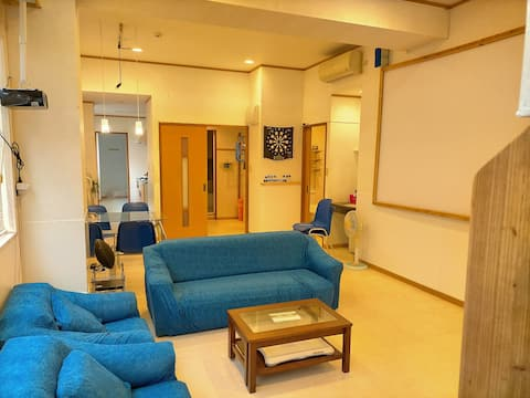 November 2020 open, 5 minute walk to remote island terminal, free WiFi, free bicycle, with 1 P1 (2 light), 60 ㎡