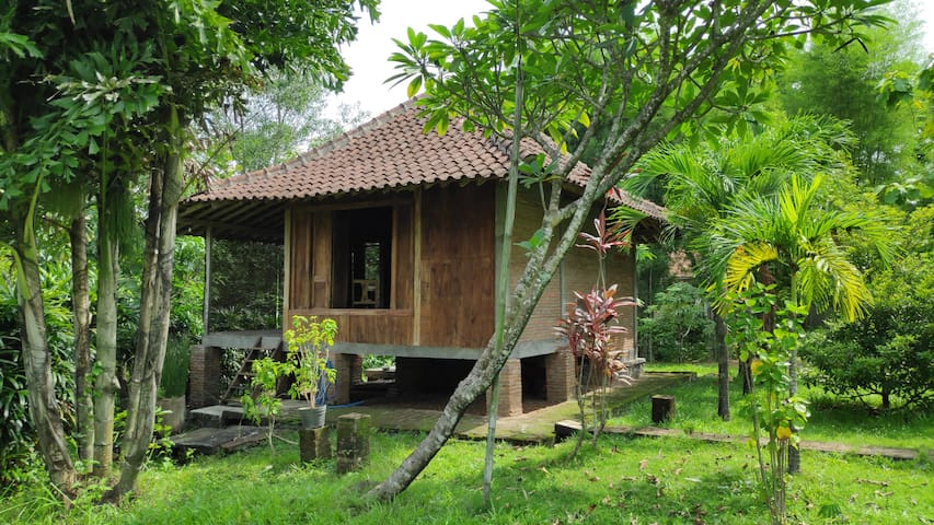 Pondok Panggung - Little Wooden House on Stilts