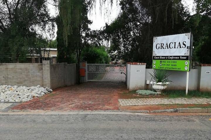 Gracias Gastehuis Potchefstroom