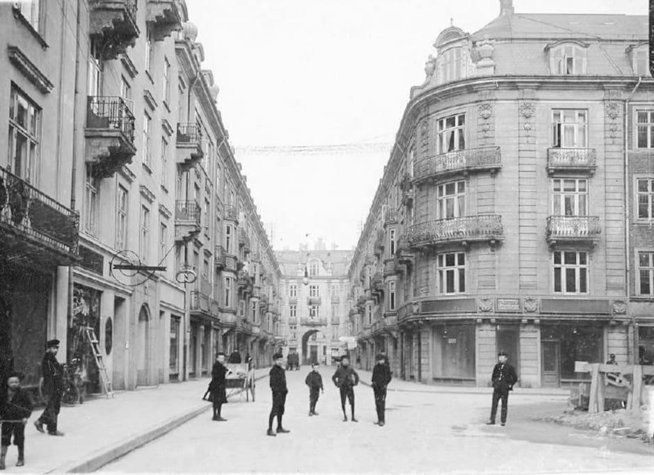 Our street around 1910