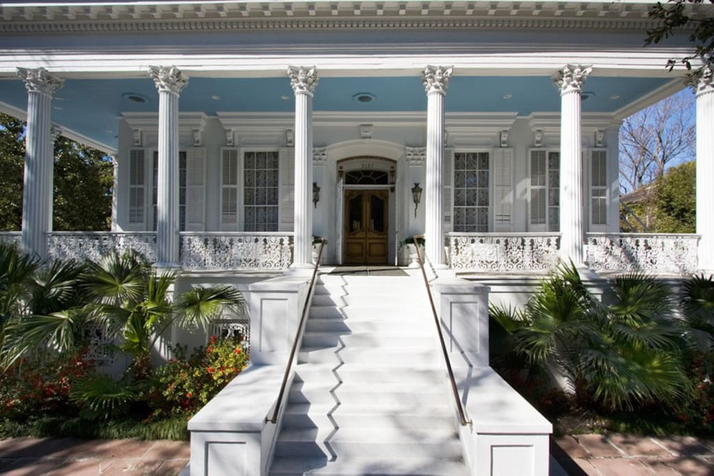 Historic Lower Garden District Mansion Boutique Hotels For Rent In New Orleans Louisiana