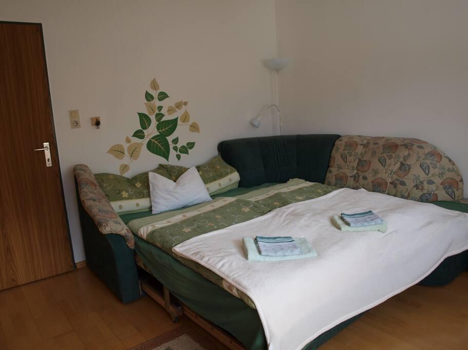 Zimmer 1 - Schlafcouch