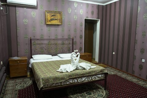 Bukhara's warm and authentic guest house