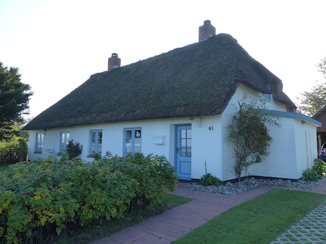 Ferien unterm Reetdach - holiday in thatched house