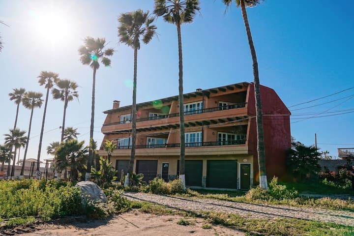 Baja Beach Ranch 3: Rustic 6-Acre Surf & Farm Home