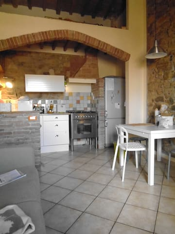appartamento  nelle campagne  toscane - Le Case II - Apartemen