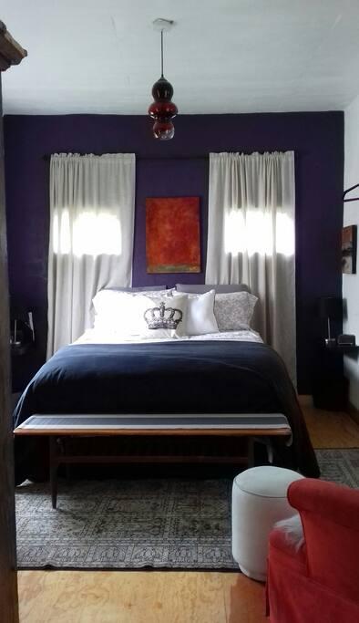 bedroom #1 queen size bed