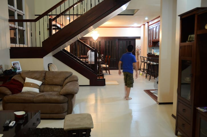 this is the main hall of the house