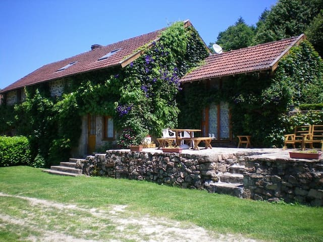Large Cottage Limousin Countryside - Eymoutiers - Casa