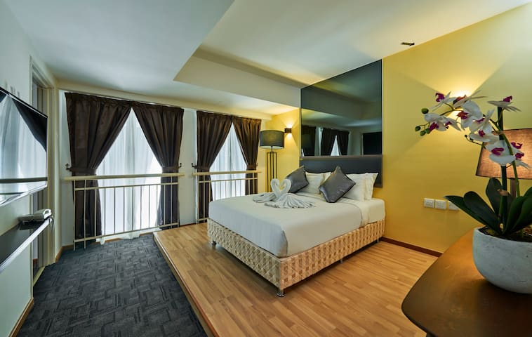 Stunning Duplex Room