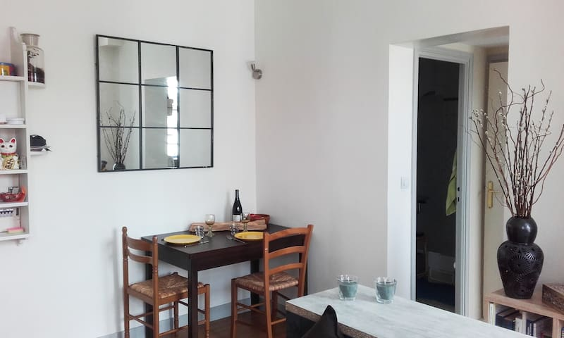 Charming flat walking distance from Tour Eiffel - París - Apartamento