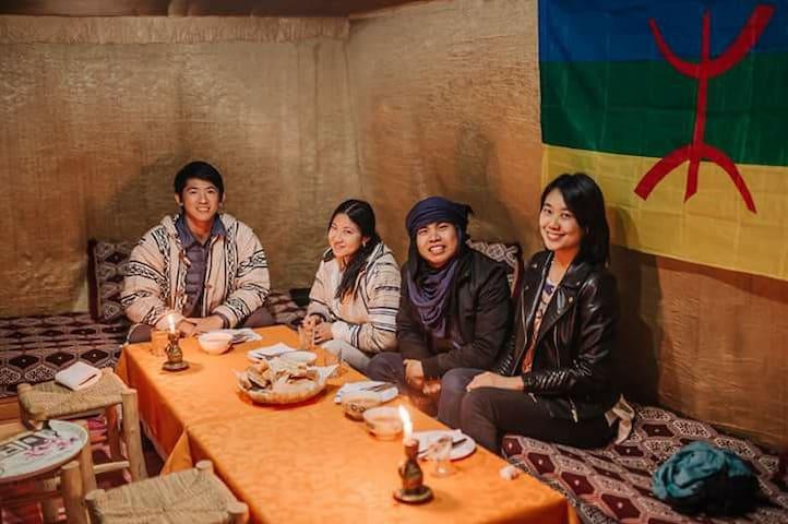 Berber House / Camel Trip