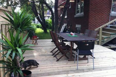 Magnifique séjour en famille à Montréal !!! - Montréal - Talo