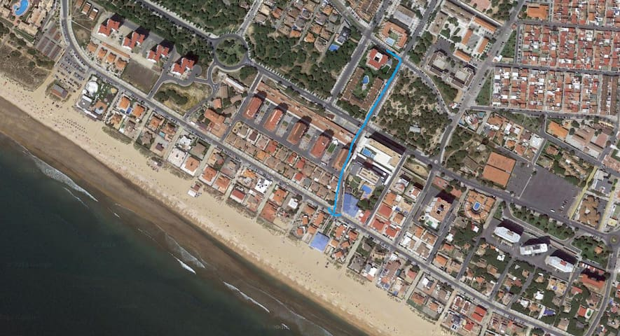 Apartamento en Punta Umbría con vistas al mar - Punta Umbría - Квартира