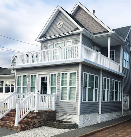 Lovely Two Story Beach House in Seaside Park