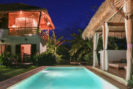 Villa Dharma.  Tropical Villa with pool