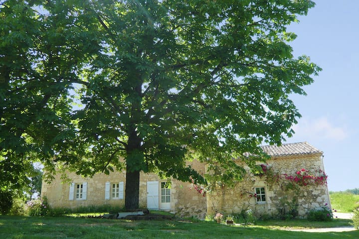 Authentic holiday home in a former farmhouse, with garden, in southern France