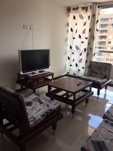 Lindo apartamento en ciudad del rio