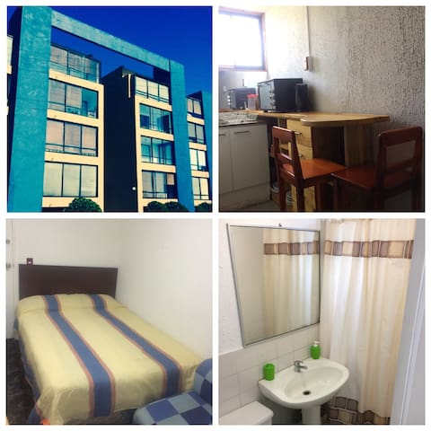 Pequeño y equipado departamento - Pichilemu - Appartement