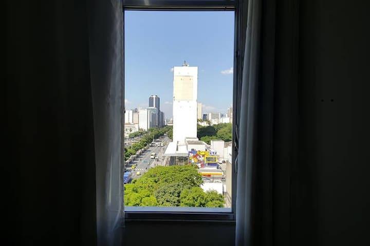 Quarto individual - Lugar seguro no Centro do Rio - Rio de Janeiro - Apartamento