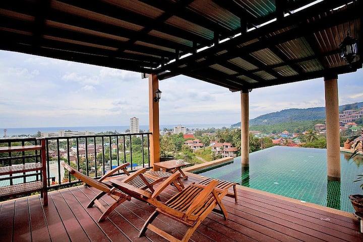 Baan Pa Nom | 3 Bed Pool Home in Karon Phuket