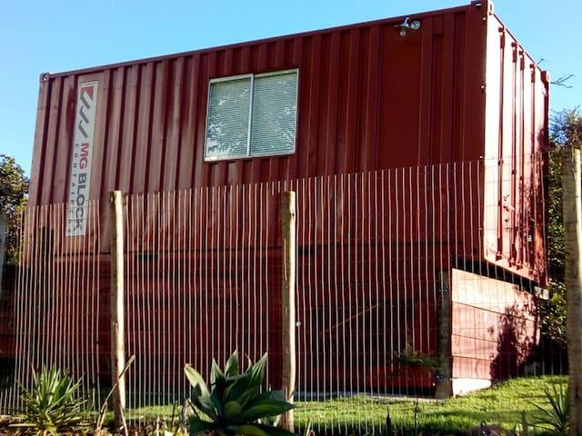 Container da Lapinha -  Vermelho