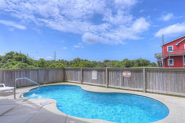 6210 Graham Slam *4 Min Walk to the Beach * Dog Friendly * Pool & Hot Tub