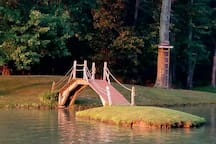 pond for fishins ,paddle boats and SWIMMING.  We have extra surprises for the more adventurous folks