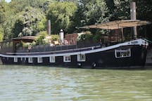 Orignal  River Boat 80sqm with Private Hot Tube