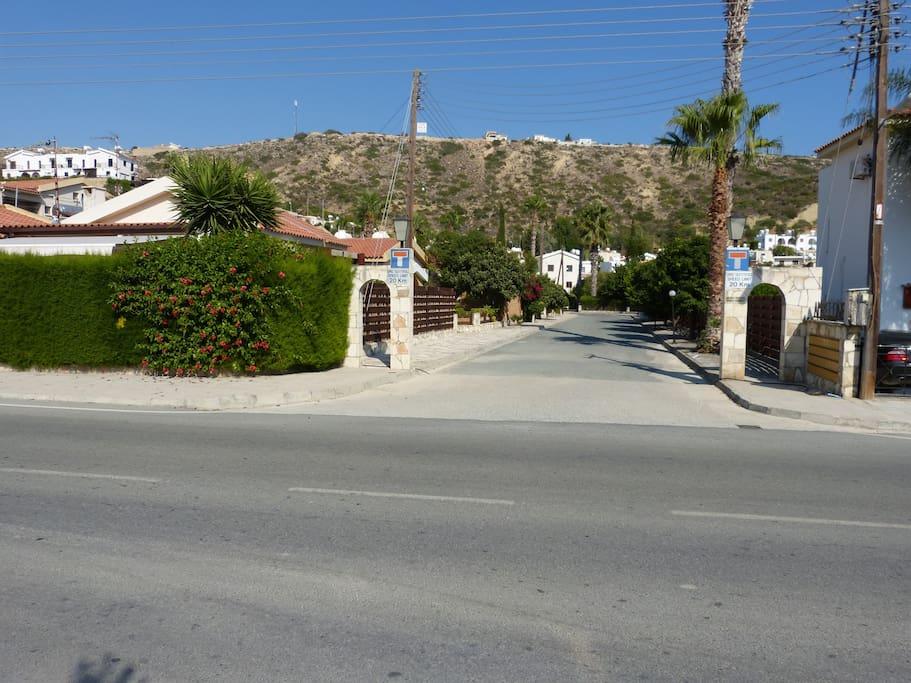 Entrance to Ambelones