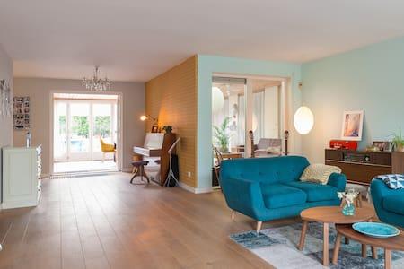Spacious Villa in Nijmegen 200m2 &big garden & BBQ