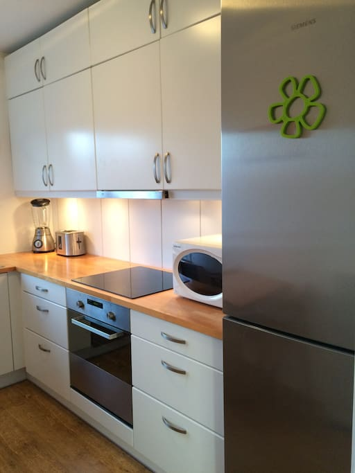 Fully equipped kitchen with all that you need to feel at home