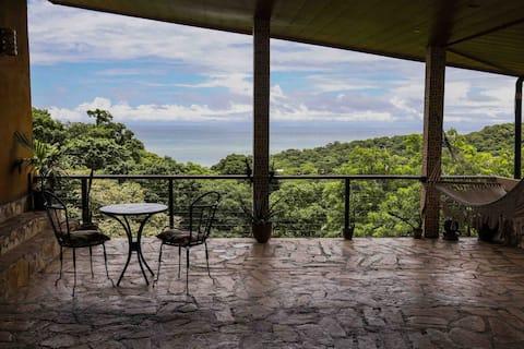 Casa del Arte étage privé - vue imprenable sur l'océan