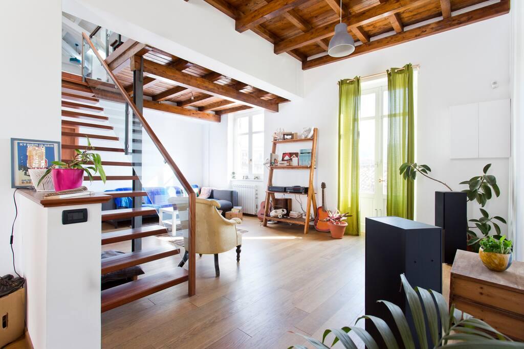 Stanza con bagno privato in attico panoramico apartments in affitto a palermo sicilia italia - Stanza con bagno privato roma ...