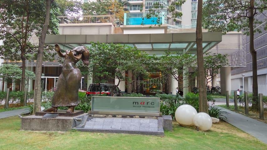 KLCC 124m walk @Marc Residence, Kuala Lumpur - Kuala Lumpur - Leilighet