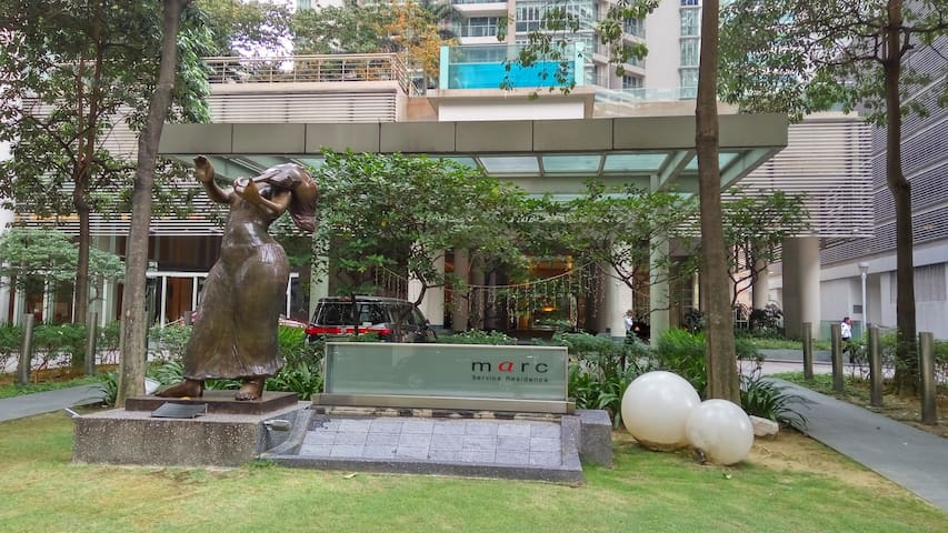 KLCC 124m walk @Marc Residence, Kuala Lumpur - Kuala Lumpur - Apartamento