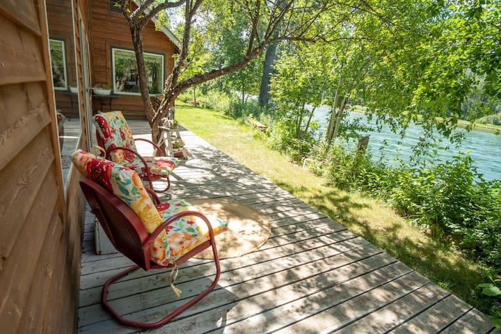 Kootenai River Homestead - Master Suite