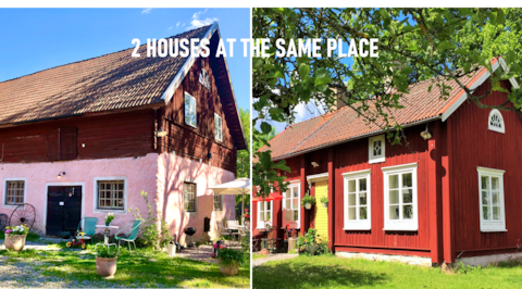 2 HOUSES IN LOVELY SETTING - 10MIN TO öREBRO CITY