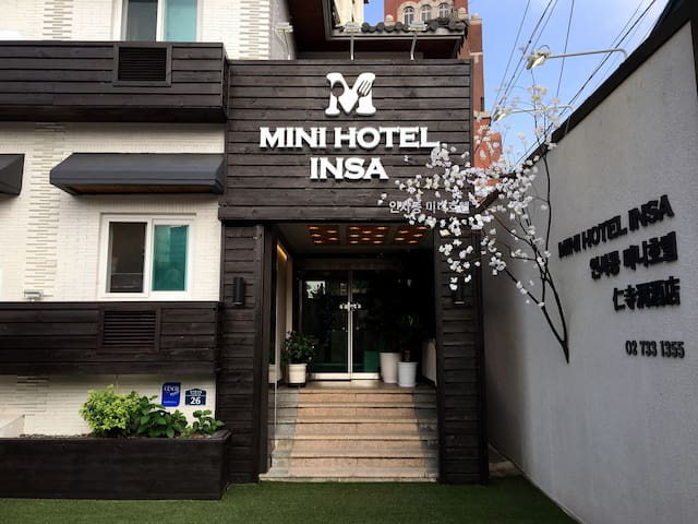MINI HOTEL INSA Double room 더블룸#01