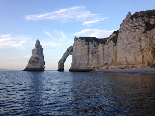 La Laumatima à deux pas de la plage d'Etretat - Étretat