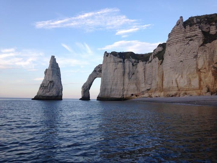 La Laumatima à deux pas de la plage d'Etretat